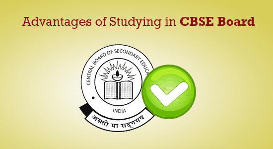 CBSE-Advantages