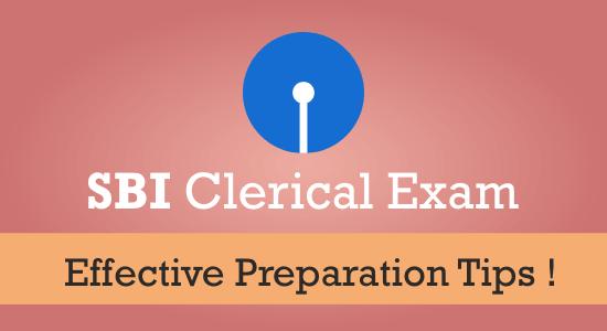 SBI Clerical Exam Preparation Tips