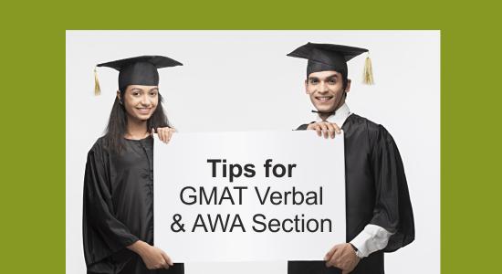 GMAT Verbal and AWA Tips
