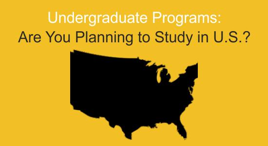 Undergraduate Programs - Studying in the U.S.