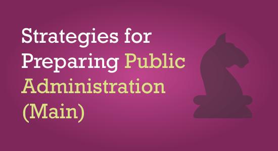 UPSC Public Administration Main