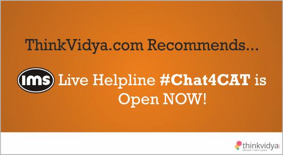 IMS #Chat4CAT Live Helpline