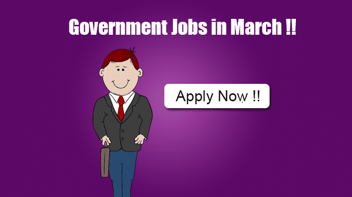 Apply Government Jobs in March 2015