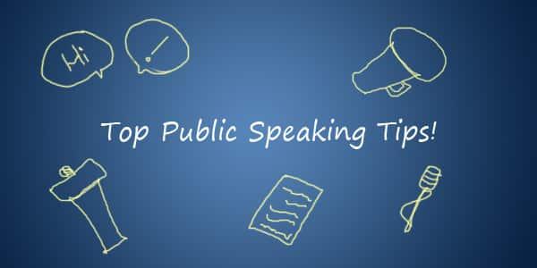 Top Public Speaking Tips