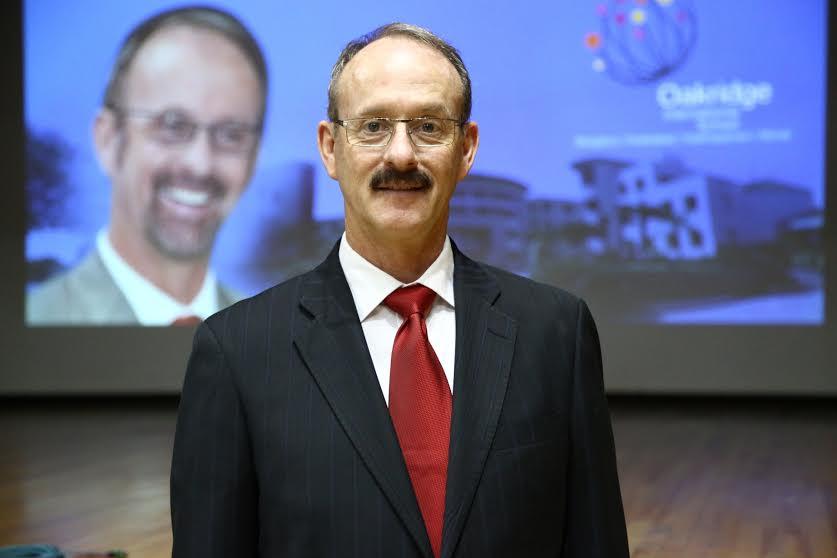 Mr. Gustav J Gropp, Principal of Oakridge International School
